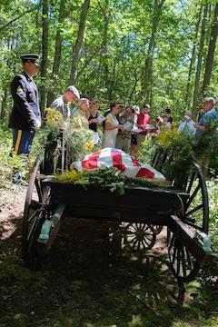 Green burial