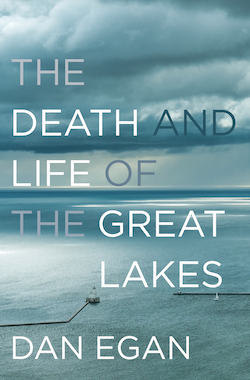 """The Death and Life of the Great Lakes"" book cover"