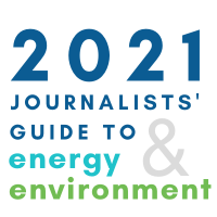 2021 Journalists' Guide logo