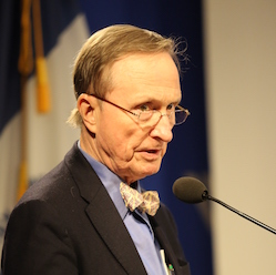"Scientist and biodiversity expert Thomas Lovejoy warned that ""toxic substances constitute one of the biggest environmental threats down the line."" Photo: Courtesy Wilson Center"