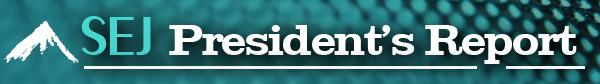 SEJournal Online President's Report banner