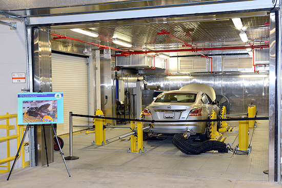 EPA's National Vehicle and Fuel Emissions Laboratory in Ann Arbor, Mich.