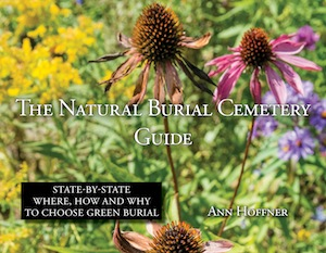 Cover of the book, The Natural Burial Cemetery Guide