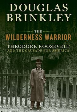 Cover of Wilderness Warrior book by Douglas Brinkley