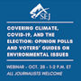 Graphic for Covering Climate, COVID-19 and the Election — Opinion Polls and Voters' Guides on Environmental Issues
