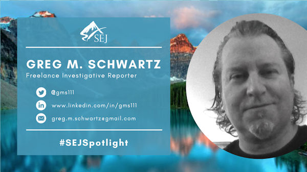 #SEJSpotlight graphic for Greg M. Schwartz