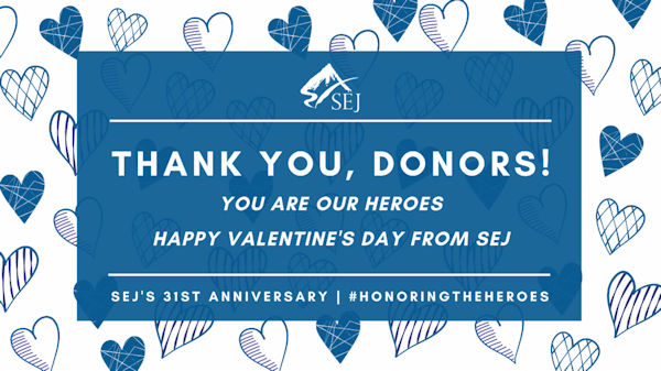 Thank you donors graphic
