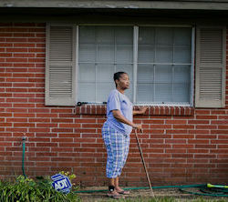 Lab owner and environmental activist Tennie White was sentenced to more than three years in a federal prison. Found guilty of fraud for faking lab tests she insists she performed, she was the only person connected to a pair of major environmental contamination cases in Mississippi to serve prison time. Photo: Screenshot courtesy The Intercept.